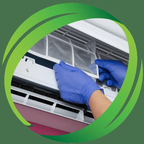 Почистване на климатици