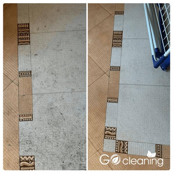 Професионално измиване на подова настилка