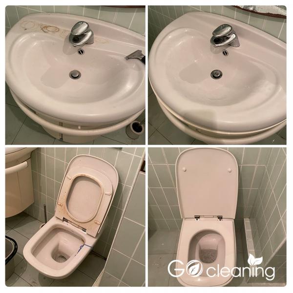 Почистване на тоалетна