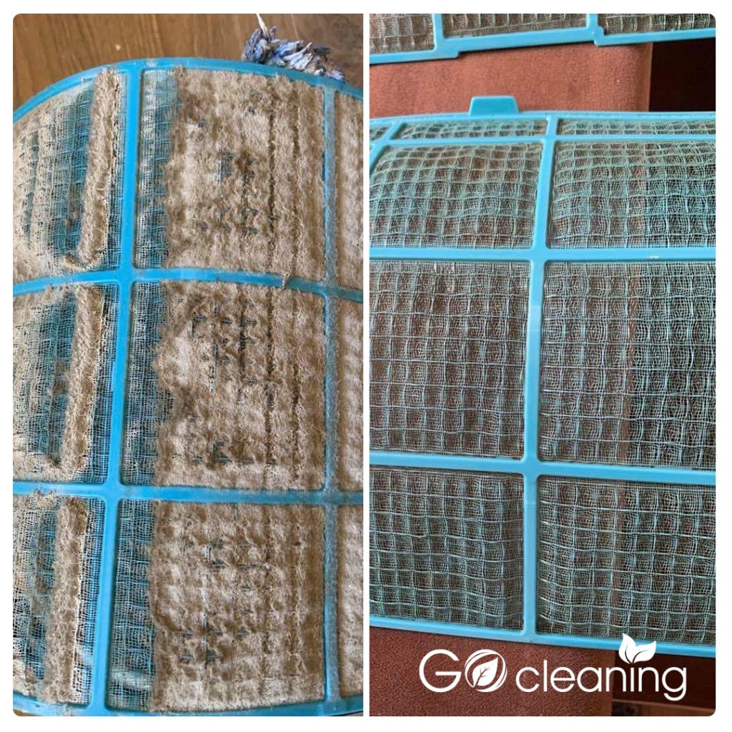 Почистване на филтри за климатик